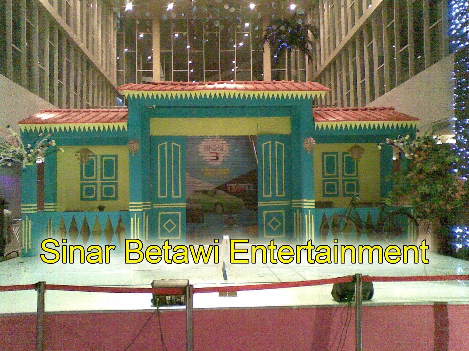 Sewa Dekorasi Khas Betawi | Pelaminan Khas Betawi | Rumah ...