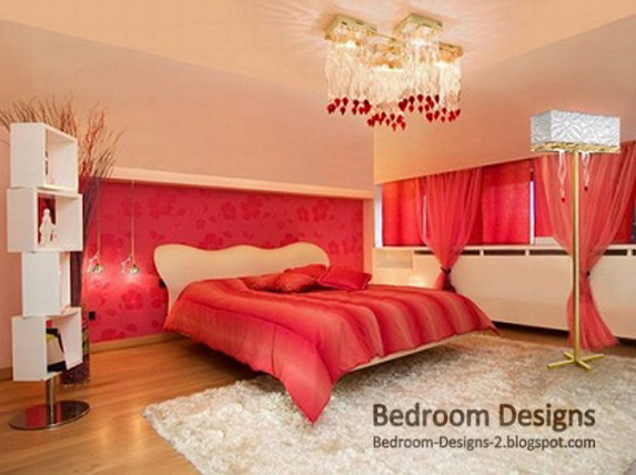 Bedroom designs for Red master bedroom designs