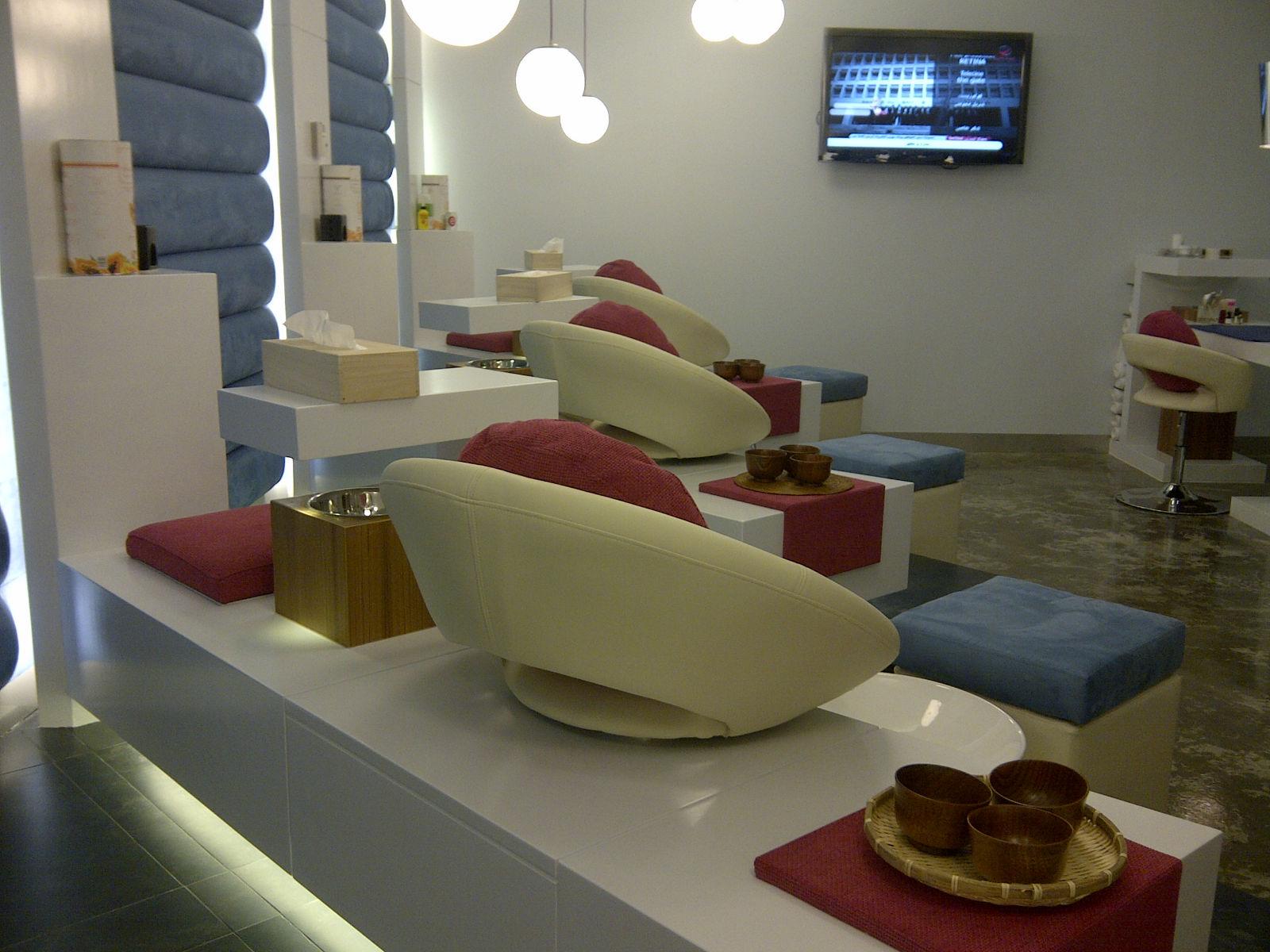Ten Nail Bar @ Al Tijaria Mall , Kuwait - Nailartdesignsidea.info via