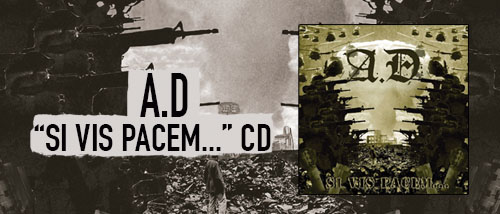 A.D – Si Vis Pacem … - CD
