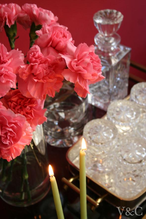 claveles rosa