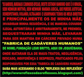 """BANDIDOS, MARGINAIS E CRIMINOSOS OFICIAIS"""