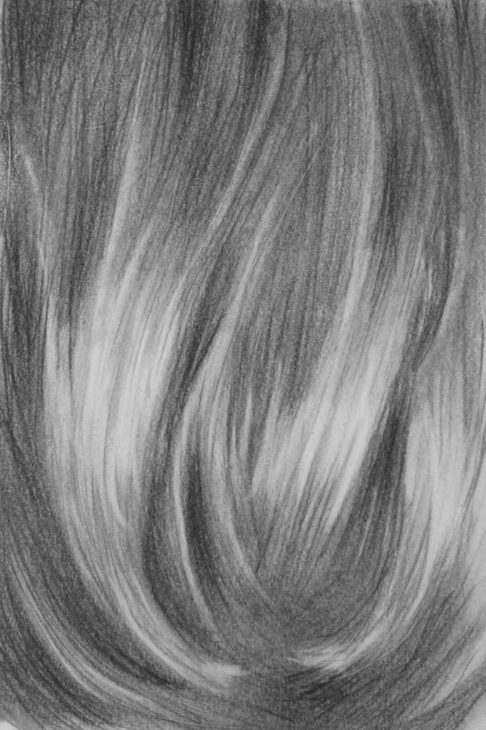 How to Texture Hair Drawing How to Draw a Realistic Hair