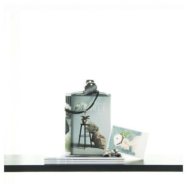 madame bao postcard shelfie in teal colourway