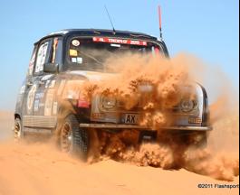 Le Raid 4L+sable