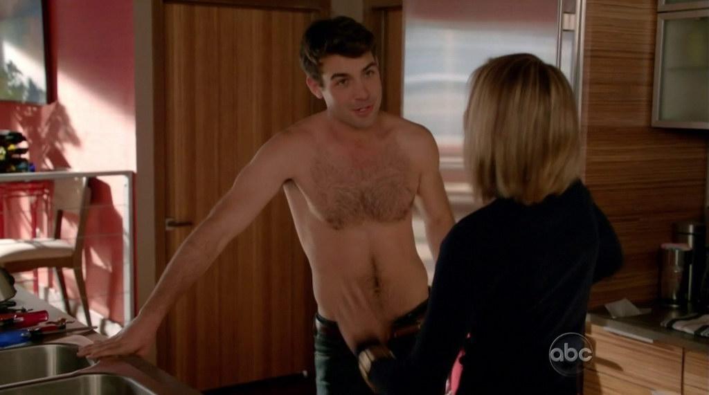 james wolk shirtless in happy endings s2e14 shirtless