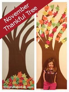 November Thankful Tree