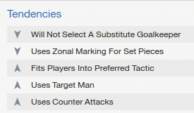 FM14 Manager Tendencies