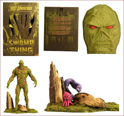 San Diego Comic-Con 2011 Exclusive Swamp Thing DC Universe Classics Action Figure and Packaging by Mattel