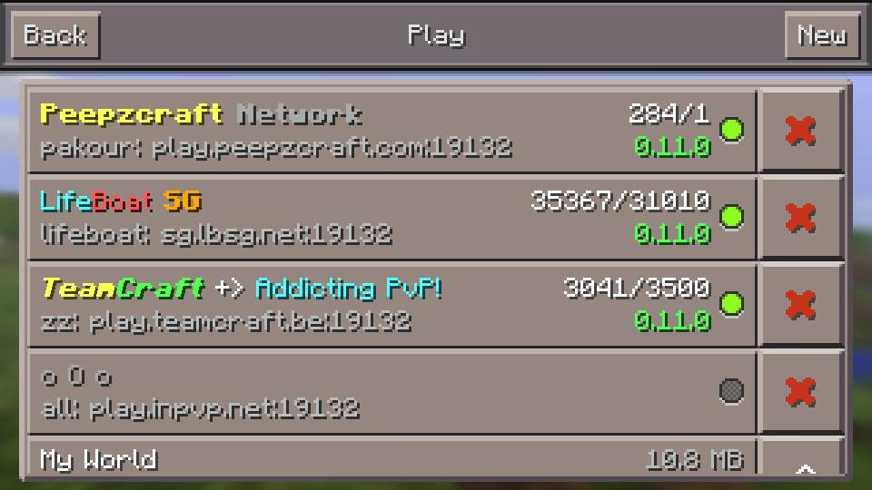 how to join a server in minecraft pe local