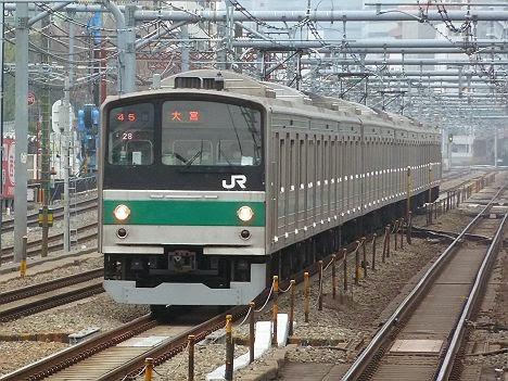 埼京線 各駅停車 大宮行き1 205系