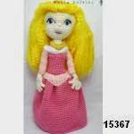 patron gratis princesa Aurora amigurumi, free amigurumi pattern princess Aurora