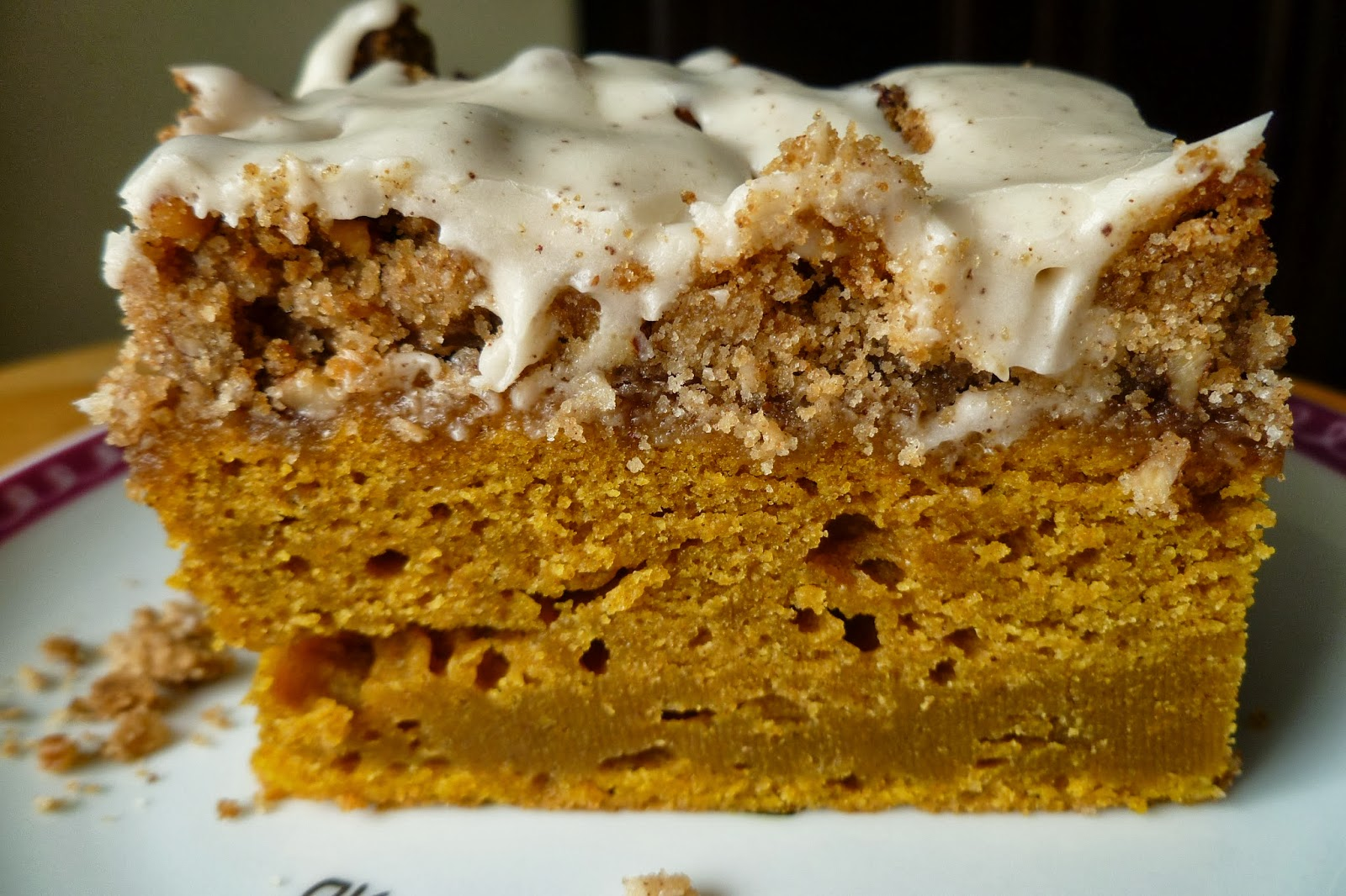 The Pastry Chef's Baking: Pumpkin Coffee Cake with Brown Butter Icing