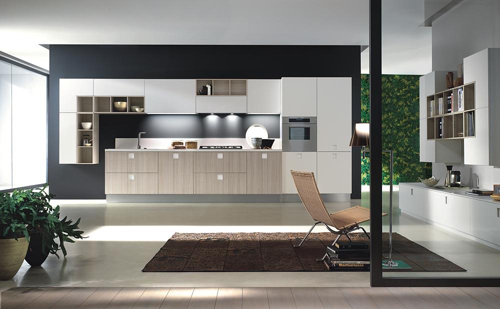 Tiradores con luces que personalizan la cocina cocinas for Cocina y salon abierto