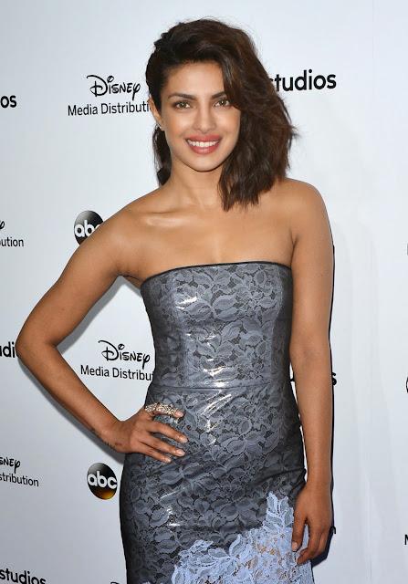 Priyanka Chopra Displays Her Amazing Figure As She Attends Disney Media Distribution International Upfronts At Walt Disney Studios in Burbank