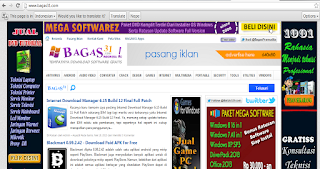 Download Gratis Template Blog Bagas31 Old Version sekarang