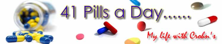 41 Pills a Day--Living With Crohn's