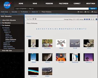 NASA PICTURE DICTIONARY