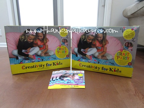 Creativity for Kids boxes