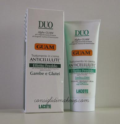 Review: Trattamento in crema Anticellulite Effetto Freddo - Guam