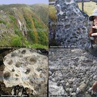 Na Serra da Freita, em Arouca, Portugal, existe um afloramento granítico diferente, onde pedras parem pedras