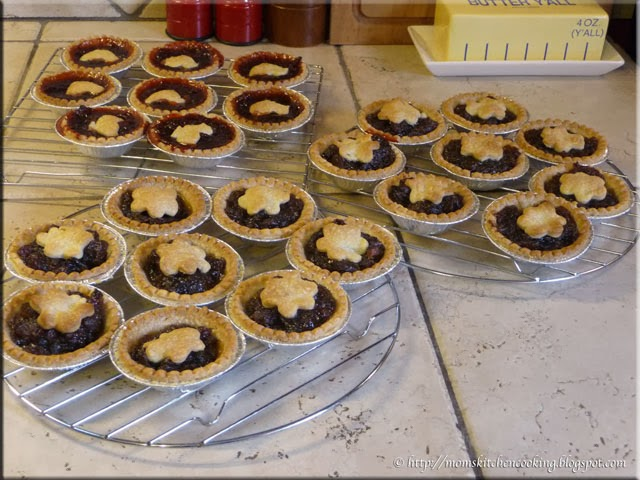 baked tarts cooling