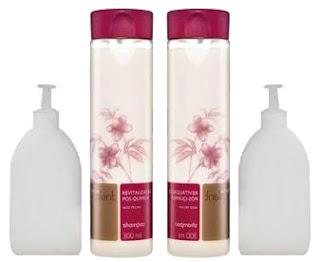 Resenha - Shampoo e Condionador Revitalização Pós Quimica da Natura