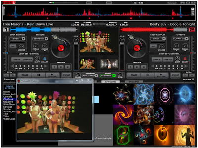 模擬專業 DJ 混音軟體,Virtual DJ V8.0.1785 繁體中文版!