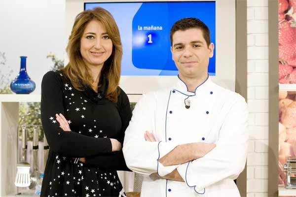 Ana Bellón y cocinero Sergio