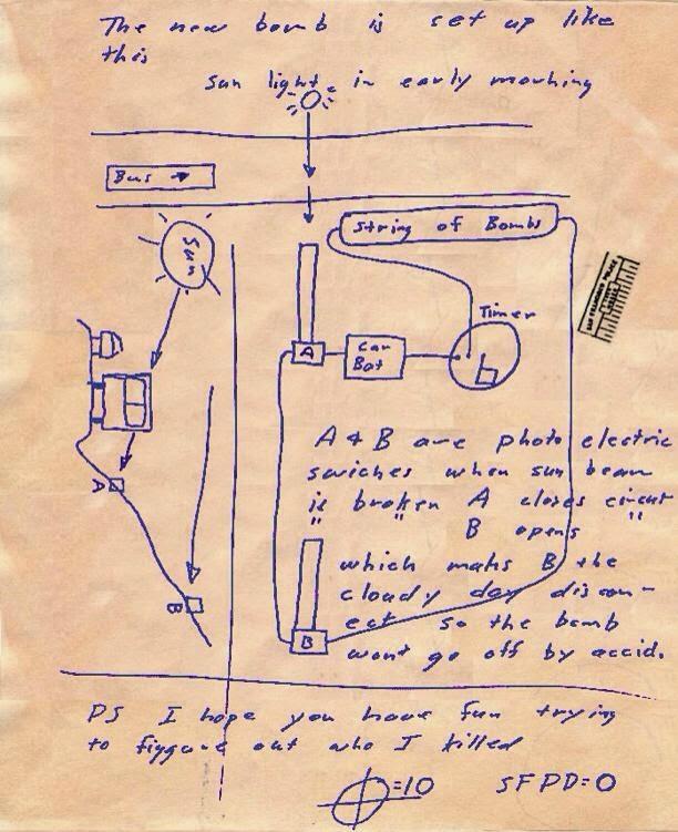 Zodiackillersitecom View Topic 1974 Letters Sent From San Rafael