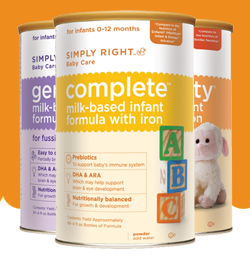 FREE Simply Right Baby Care Infant Formula Sample