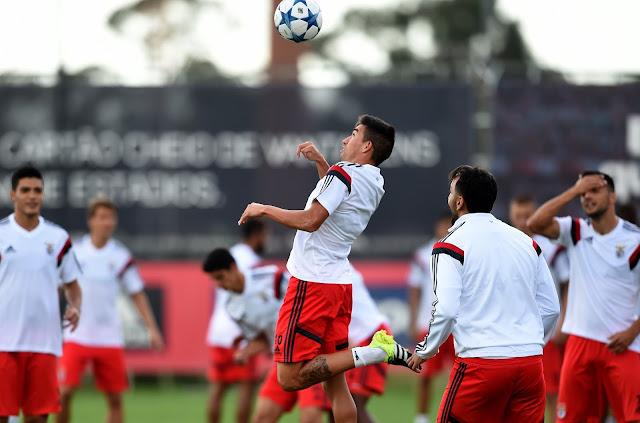 Benfica terá muitos brasileiros em campo no duelo contra o Astana (Foto: AFP/Francisco Leong)