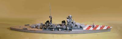 Battleships Zara Papercraft, Italian cruiser