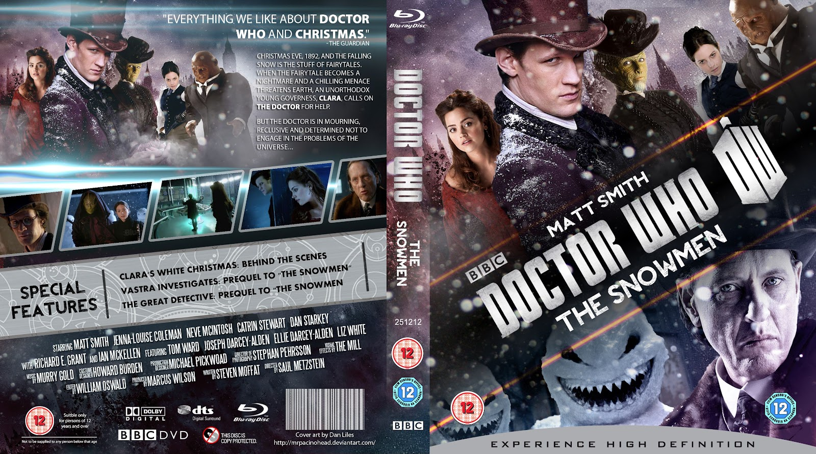 Capa Bluray Doctor Who The Snowmen