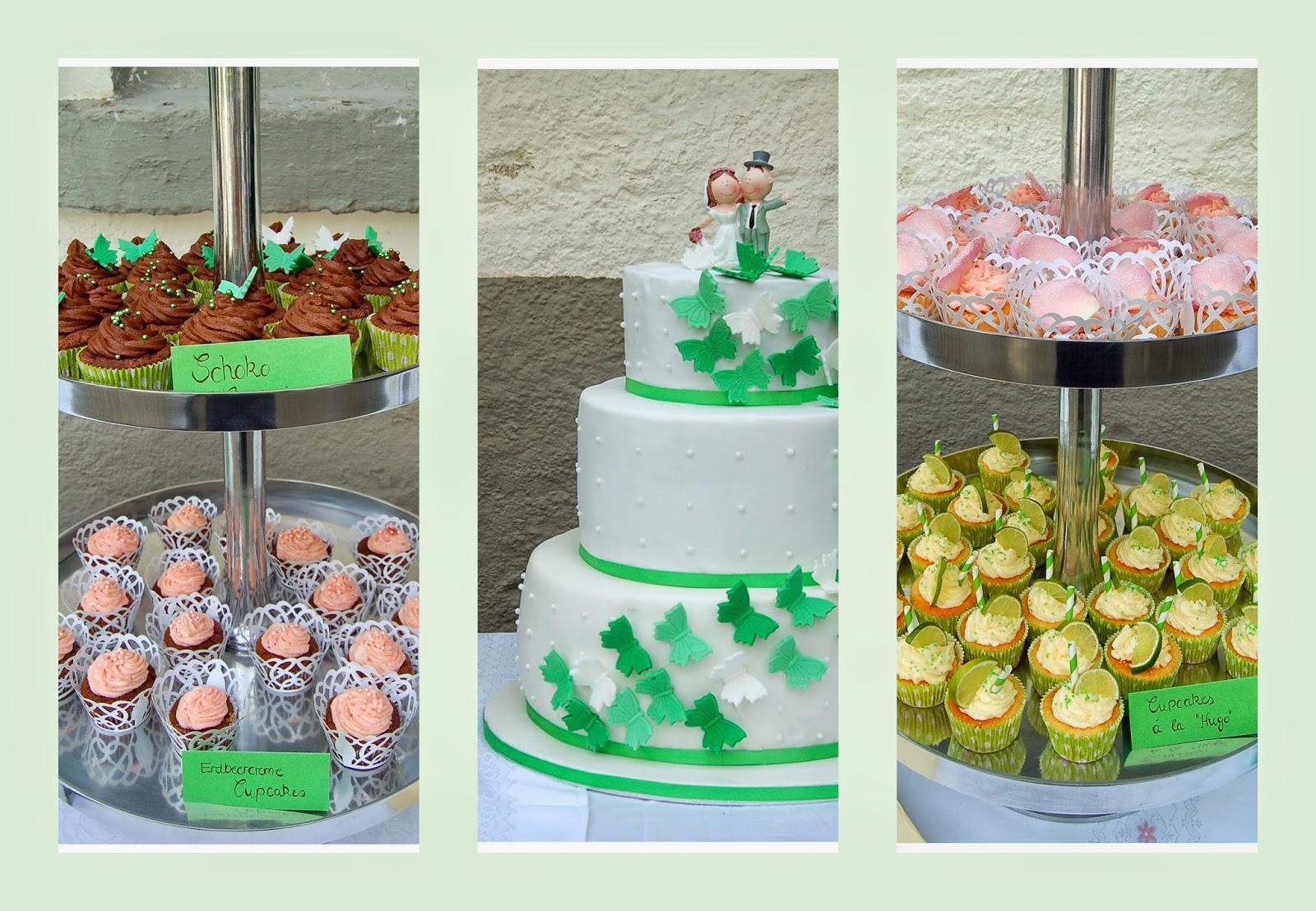 200 Cupcakes Und Eine Dreistockige Torte Caroline S Kitchen
