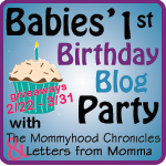 BFBBPbutton Zanes First Birthday Bash #1  KidCo Go Pod Portable Activity Seat GIVEAWAY!!