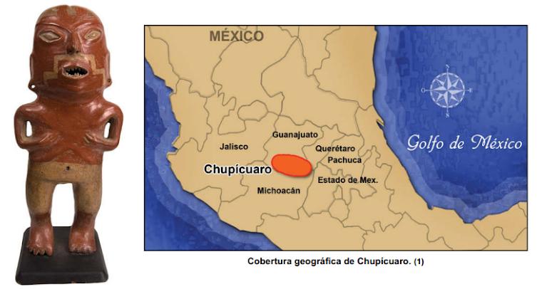 Mapa Alcance de Chupicuaro