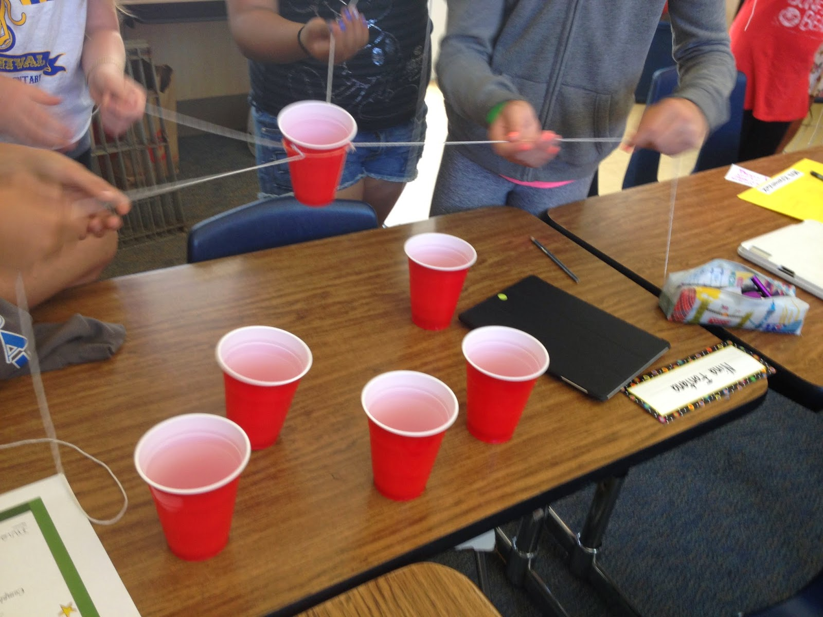 Each One Teach One Red Solo Cup Challenge