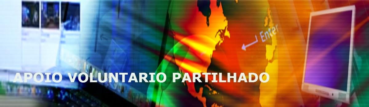 TUTORIAIS APOIO VOLUNTARIO PARTILHADO