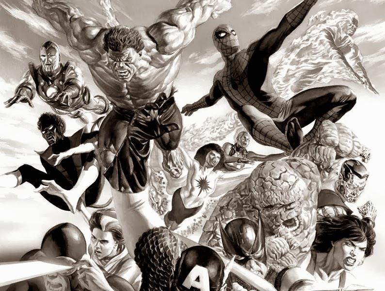 superheroes de comic