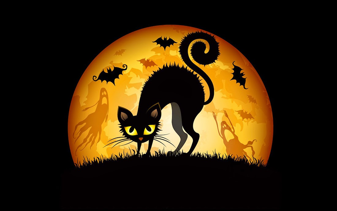 Halloween Black Cats, part 1