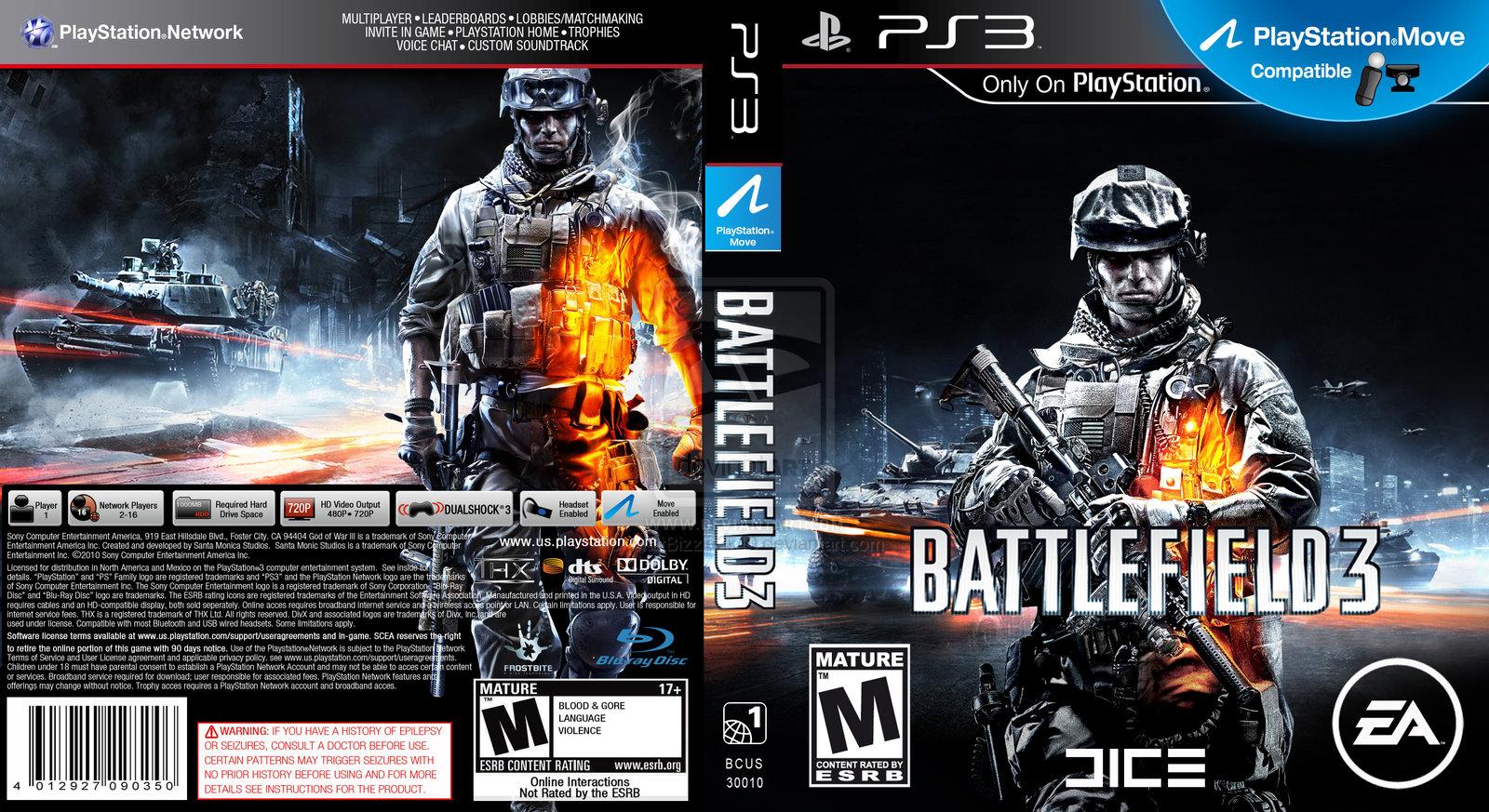 Battlefield 3 Cover Ps3 | www.pixshark.com - Images ...