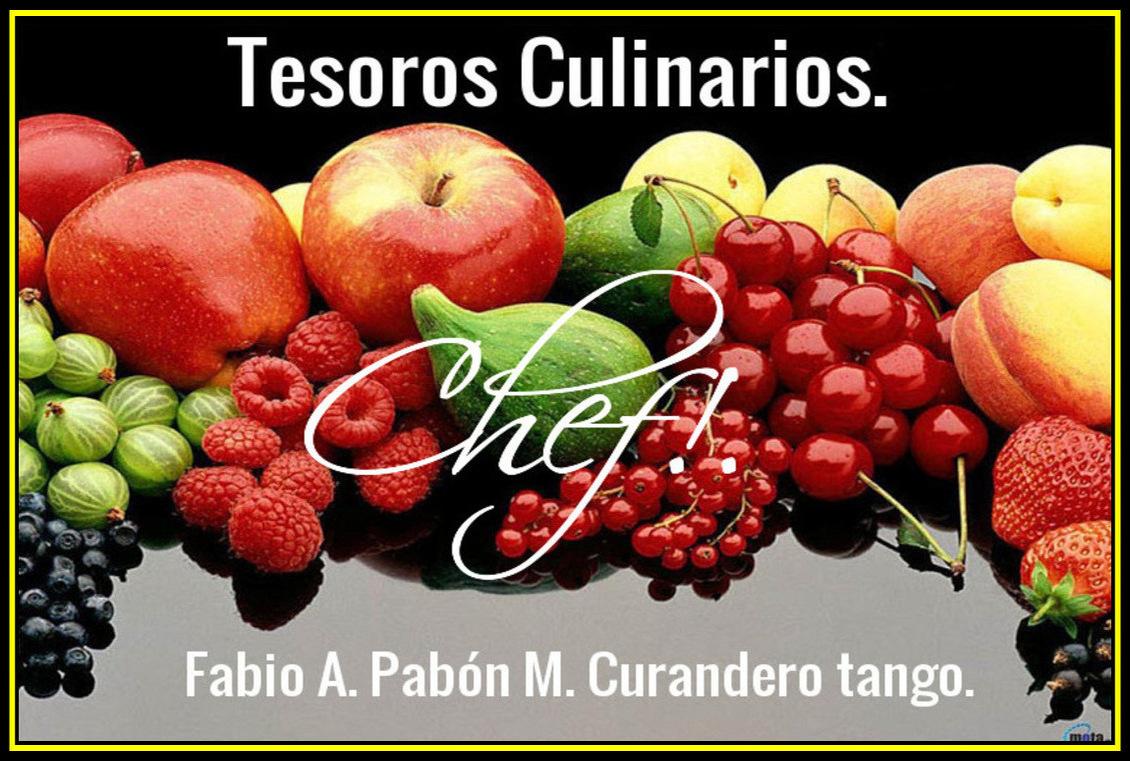 Tesoros culinarios. Curandero tango.