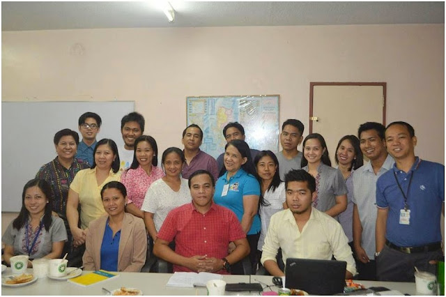 Luzon group of participants