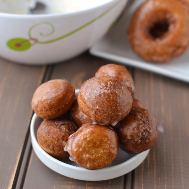 Roasted Chestnut Donuts (Vegan & Eggless Cake Donut Recipe)