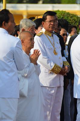 Prime Minister Hun Sen at Funeral of King Norodom Sihanouk, Phnom Penh, Cambodia