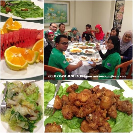 makanan halal di Gold Coast