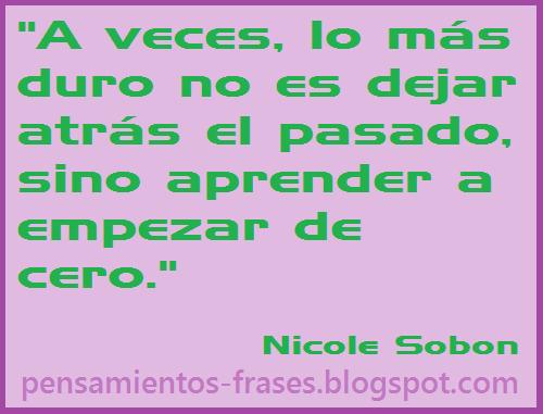 frases de Nicole Sobon