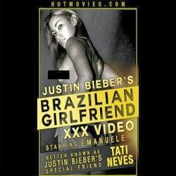 Mulher que filmou Justin Bieber dormindo aparece em filme xxx video