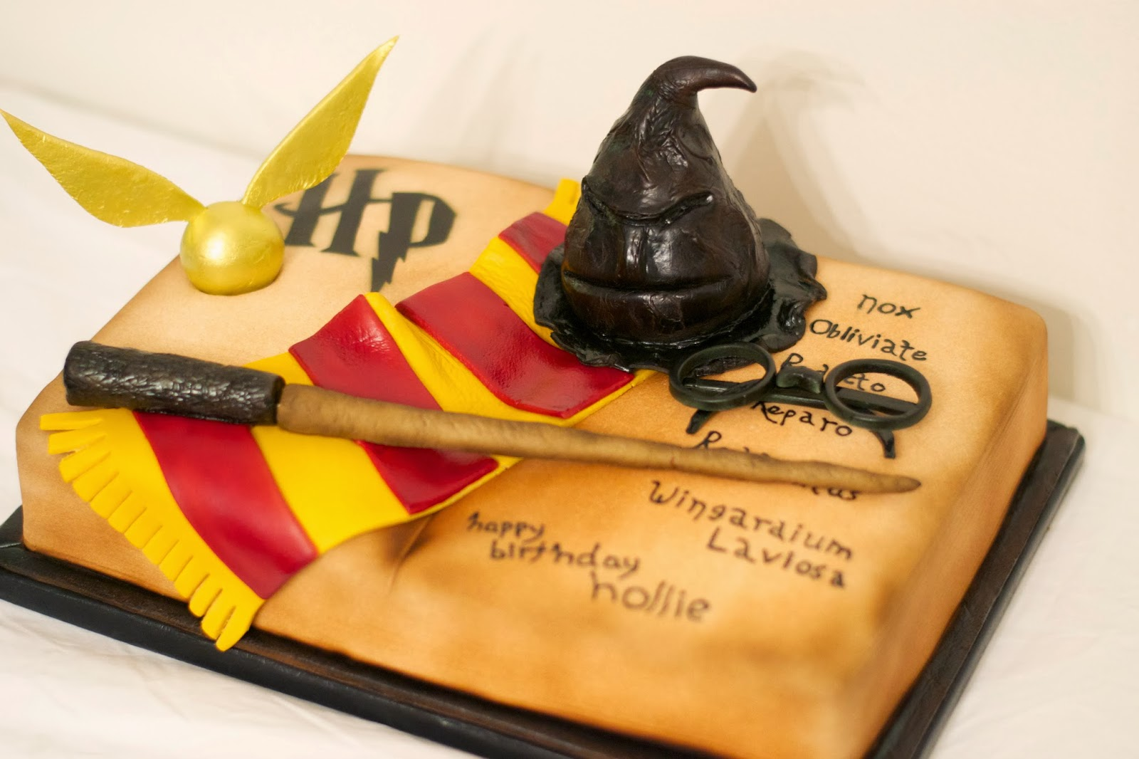 Harry Potter Birthday Cake Utah Wedding Cakes & Dessert Catering